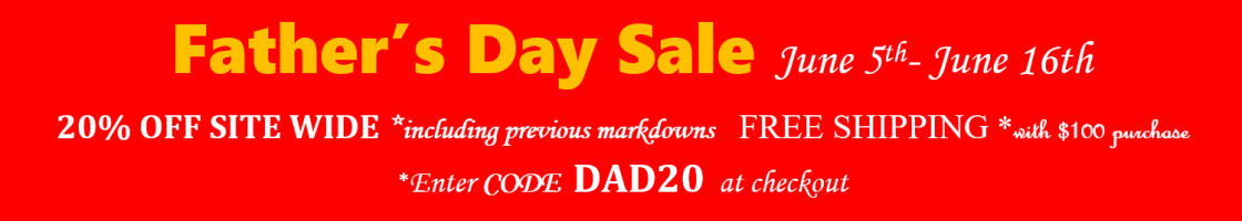 Father's Day Sale - Code: DAD20